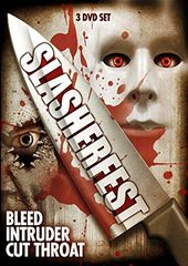 Slasherfest: Bleed / Intruder / Cut Throat (3-DVD)