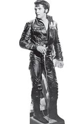 Elvis Presley - Black Leather - Life Size