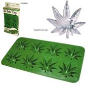 Stonerware - Marijuana Leaf-Shaped Ice Cubes