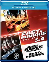 Fast and Furious Collection: 3 and 4 - With Movie