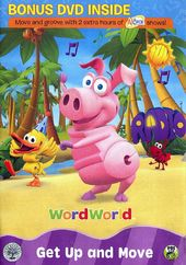 WordWorld - Get Up and Move (2-DVD)