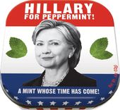 Hillary Clinton - Hillary For Peppermint Mints