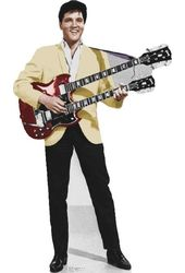 Elvis Presley - Double Neck Guitar - Life-Size