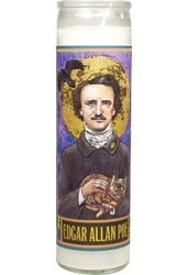 Edgar Allan Poe - Secular Saint Candle