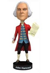 John Hancock - Bobble Head