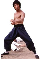 Bruce Lee - Fight Stance - Life Size Cardboard