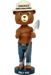 Smokey Bear Bobble Head