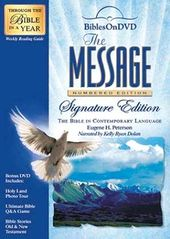 Bibles On DVD: The Message - Numbered Edition