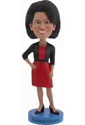 Michelle Obama Bobble Head