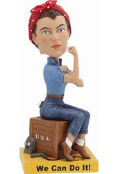 Rosie the Riveter - Bobble Head