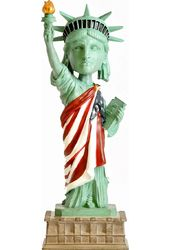 Statue of Liberty: Red, White, & Blue - Bobble
