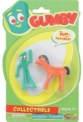 Gumby - Gumby and Pokey Mini Bendable Pair