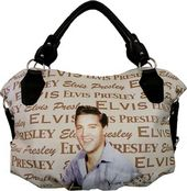 Elvis Presley - Playing The Guitar - Large Purse