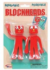 "Gumby - Blockheads - Bendable 5"" Action Figures"