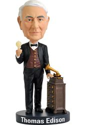 Thomas Edison - Bobble Head