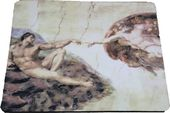 The Creation of Adam Michelangelo - Mouse Pad