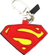 DC Comics - Superman - Pleather Logo - Keychain