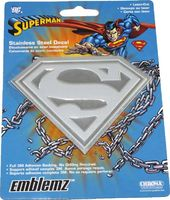 DC Comics - Superman - Stainless Steel Decal