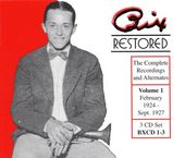 Bix Restored, Volume 1 (3-CD Box Set)