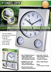 Weather Station - Wall Clock