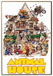 "Animal House - 13"" x 19"" Printed Wood Wall Sign"