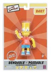 "The Simpsons - Bart 4"" Bendable Figure"