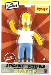 "The Simpsons - Homer 6"" Bendable Figure"