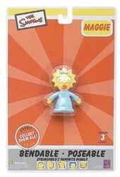"The Simpsons - Maggie 2.5"" Bendable Figure"