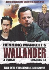 Wallander - Episodes 1-3 (3-DVD)