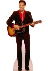 Elvis Presley - With Guitar - Cardboard Cutout