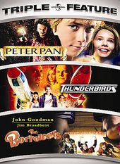 Peter Pan / Thunderbirds / The Borrowers (2-DVD)