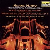 Dupree: Symphony in G minor & Rheinburger: Organ