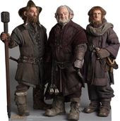 The Hobbit - Nori, Dori and Ori The Dwarfs -