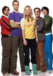 Big Bang Theory - Raj, Sheldon, Penny, Leonard &