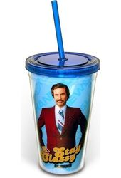 Stay Classy - 16 oz. Plastic Cold Cup with Lid &