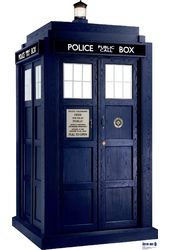 Doctor Who - Tardis Season 6 - Cardboard Cutout