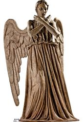 Weeping Angel From Doctor Who - Cardboard Cutout