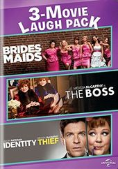 Bridesmaids / The Boss / Identity Thief (2-DVD)