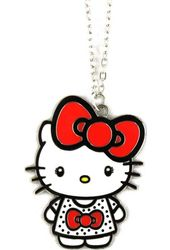 Hello Kitty - Bow - Necklace