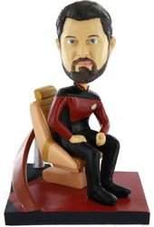 Star Trek - The Next Generation: Riker Deluxe