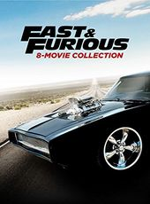 Fast & Furious: 8-Movie Collection (9-DVD)