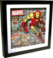 Marvel Comics - Iron Man Shadow Box