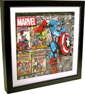 Captain America - Shadow Box