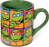 Teenage Mutant Ninja Turtles - Faces Grid: 14 oz.