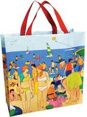 Shopper Tote - Day at the Shore