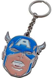 Marvel Comics - Captain America - Face Metal Key