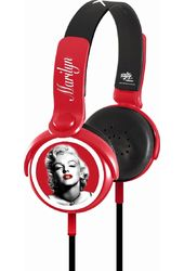 Marilyn Monroe - Red Hot - Headphones With Mic