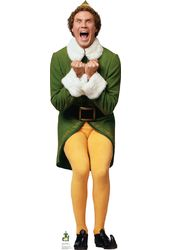 Elf - Will Ferrell - Excited - Cardboard Cutout