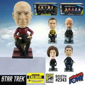 Star Trek - Captains Monitor Mate Bobble Heads