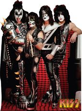 Kiss - Group - Cardboard Cutout